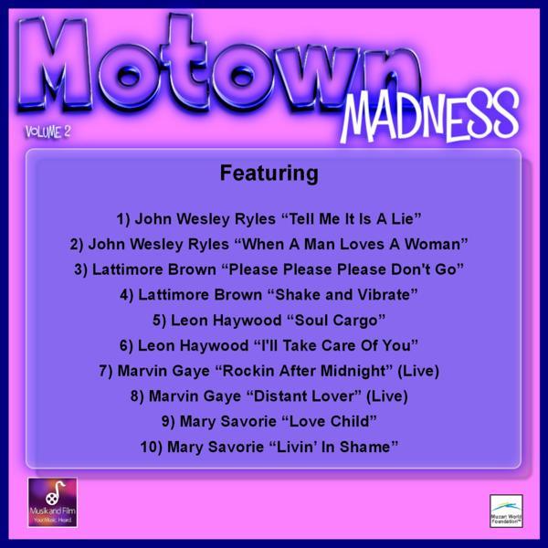 Альбом: Motown Madness, Vol. 2