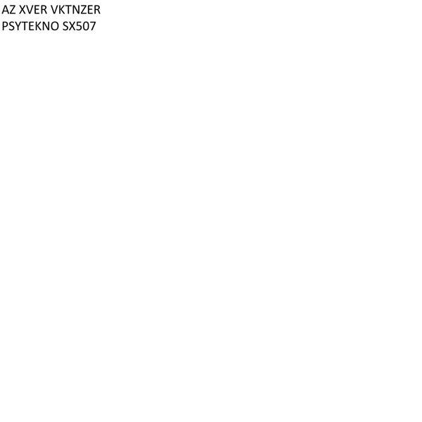 Альбом: PSYTEKNO SX507