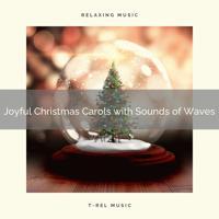 Ocean Waves For Sleep - Sleep Under a Christmas Tree with Calm Wave Sounds and Carols