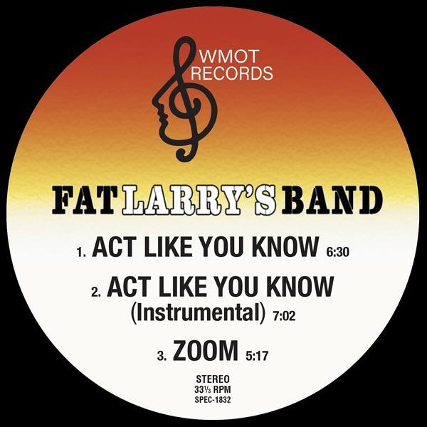 Альбом: Act Like You Know / Zoom