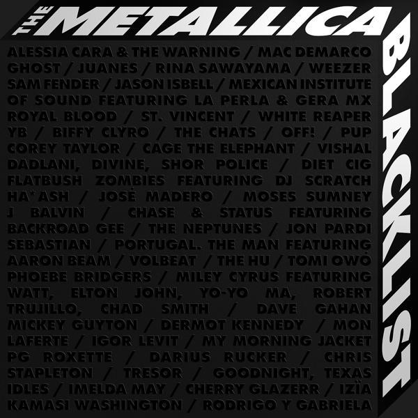 Альбом «The Metallica Blacklist» - слушать онлайн. Исполнитель «Разные исполнители, Metallica»