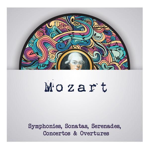 Альбом: Mozart - Symphonies, Sonatas, Serenades, Concertos & Overtures