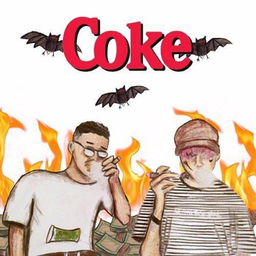 Yunggoth✰, Lil Peep - Coke (feat. Lil Peep)  (2017)