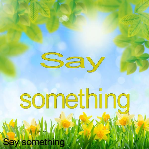 Альбом: Say Something